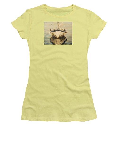 Serenity Women's T-Shirt (Junior Cut) by Natalia Tejera