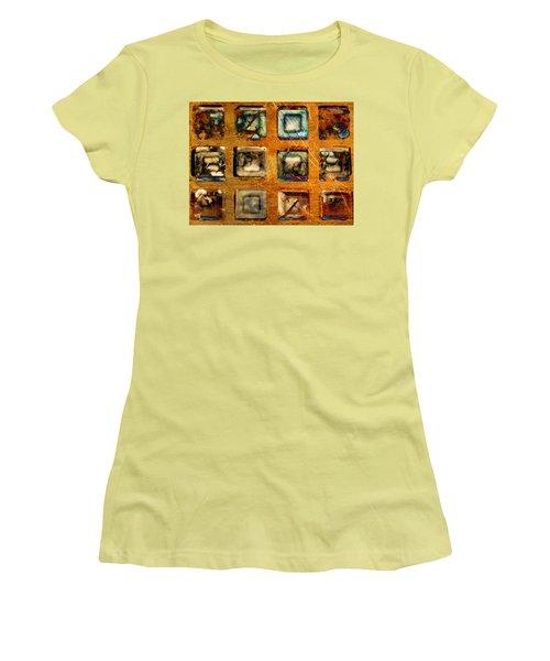 Serial Variation Women's T-Shirt (Junior Cut) by Don Gradner
