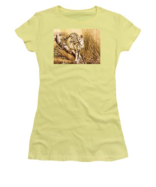 Serval Women's T-Shirt (Athletic Fit)