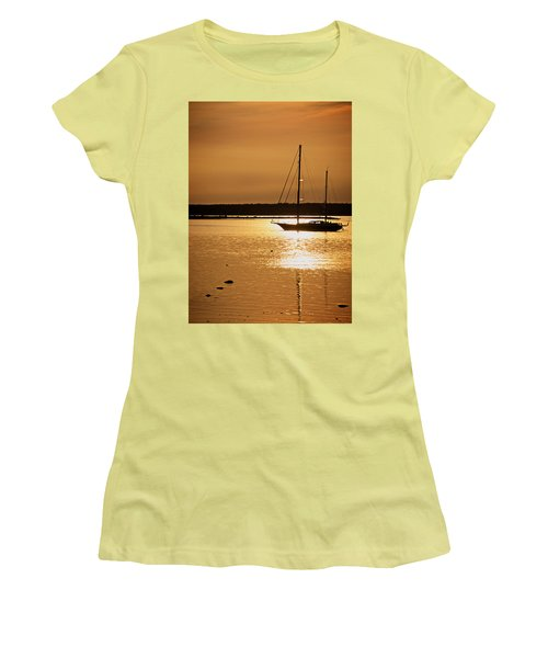 Setting Sun II Women's T-Shirt (Athletic Fit)
