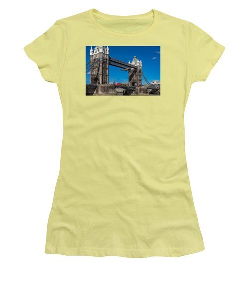Seven Seconds - The Tower Bridge Hawker Hunter Incident  Women's T-Shirt (Athletic Fit)