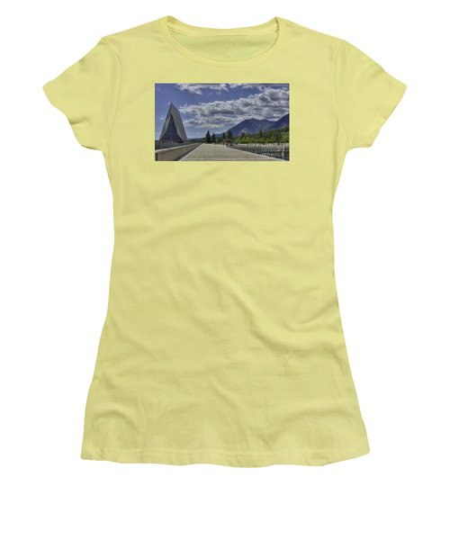 Seventeen Spires Women's T-Shirt (Junior Cut) by David Bearden