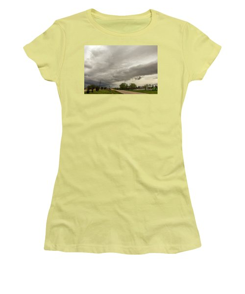 Severe Nebraska Weather 013 Women's T-Shirt (Athletic Fit)