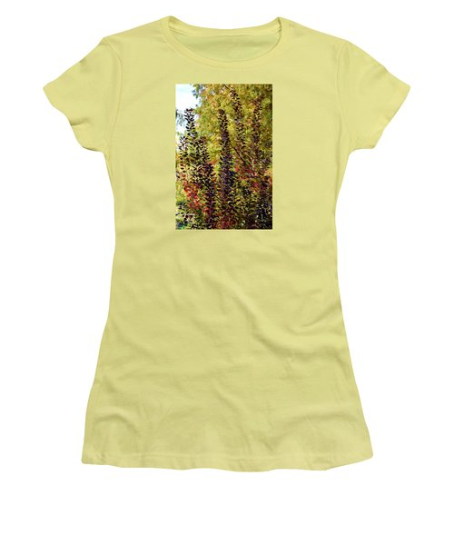 Shades Of Fall Women's T-Shirt (Athletic Fit)