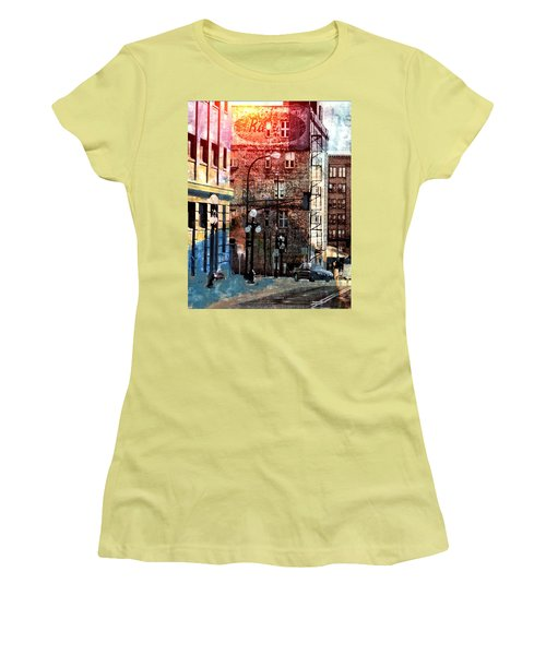Shadow On St. Paul Women's T-Shirt (Athletic Fit)