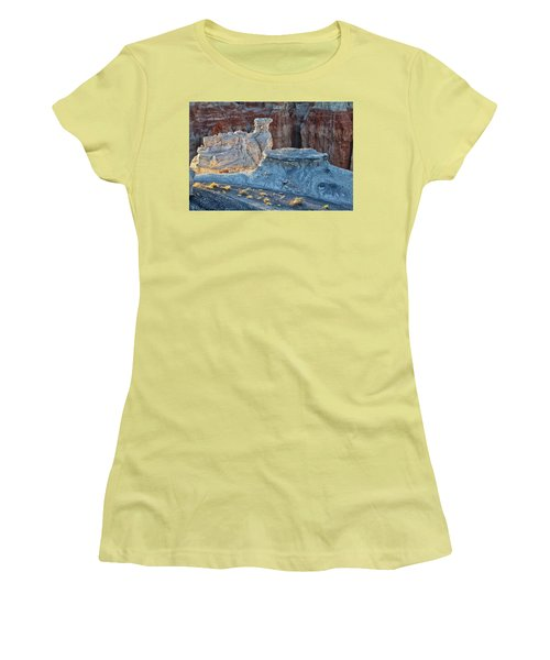 Shadows At Coal Mine Canyon Women's T-Shirt (Junior Cut) by Tom Kelly