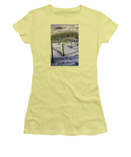 Shadows On The Dune Women's T-Shirt (Junior Cut) by Elizabeth Eldridge
