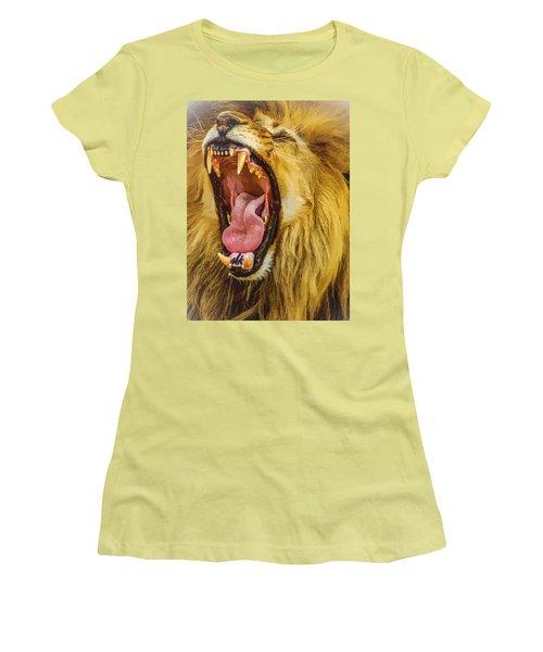 Stay Away From My Teeth Women's T-Shirt (Junior Cut) by Moustafa Al Hatter