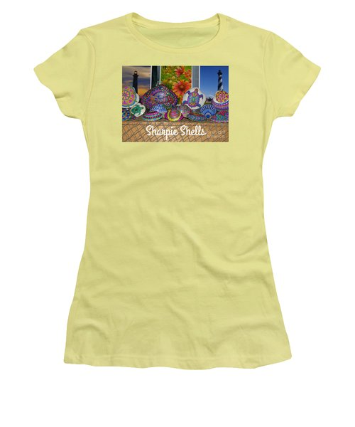 Sharpie Shells Still Life Women's T-Shirt (Athletic Fit)