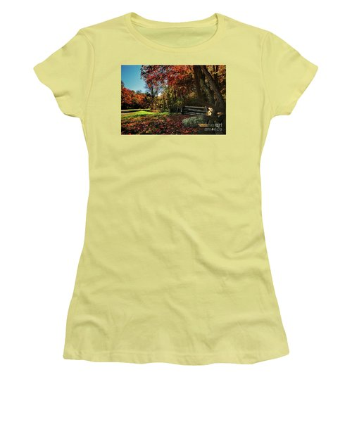 Shenandoah Fall Women's T-Shirt (Athletic Fit)