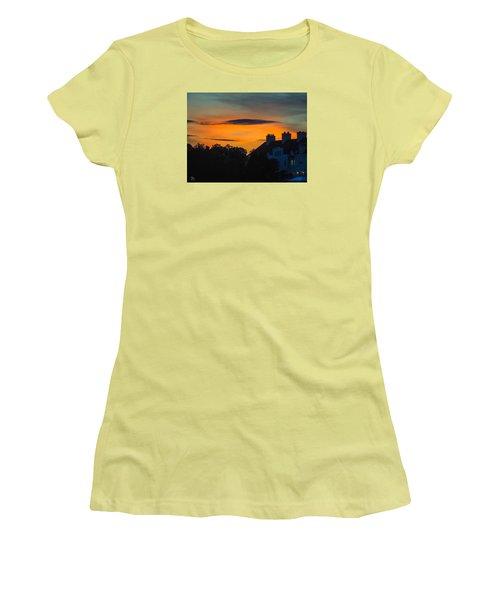 Sherbet Sky Sunset Women's T-Shirt (Junior Cut) by Glenn Feron