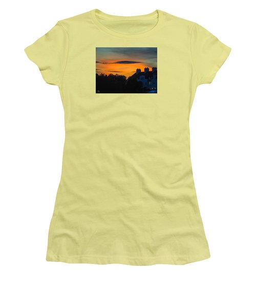 Sherbet Sky Sunset Women's T-Shirt (Athletic Fit)