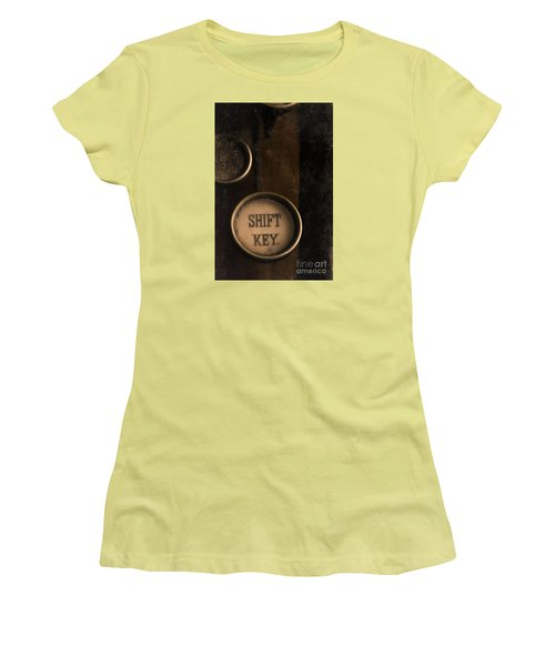 Shift Key Women's T-Shirt (Athletic Fit)