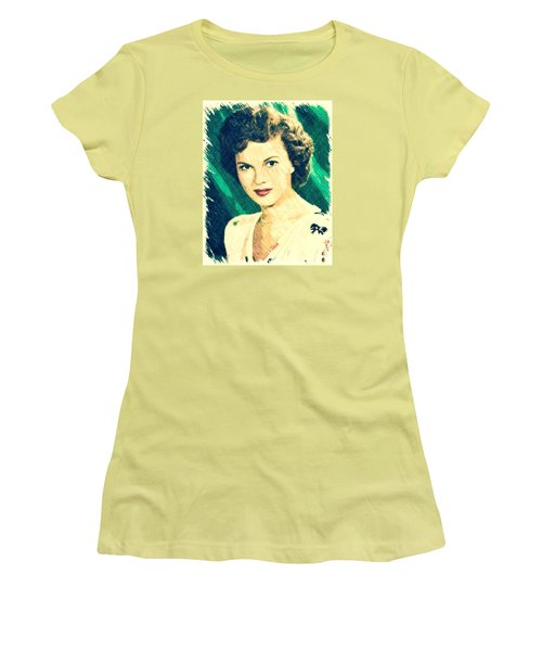 Shirley Temple By John Springfield Women's T-Shirt (Athletic Fit)
