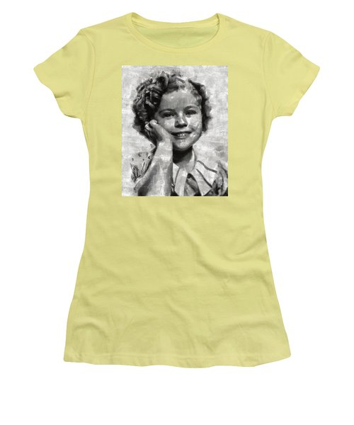Shirley Temple By Mary Bassett Women's T-Shirt (Junior Cut)
