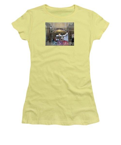 Shop Window  Women's T-Shirt (Junior Cut) by Anna Yurasovsky