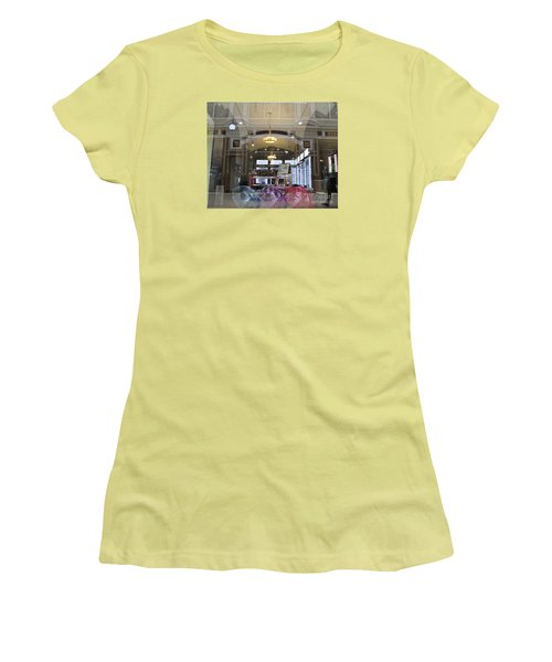 Shop Window  Women's T-Shirt (Athletic Fit)