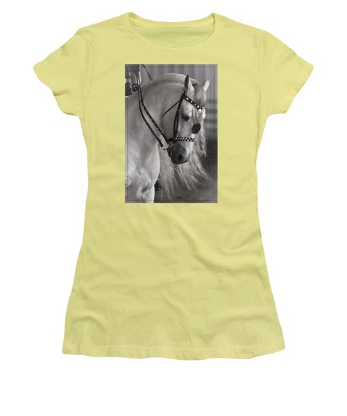 Showtime Women's T-Shirt (Junior Cut) by Wes and Dotty Weber