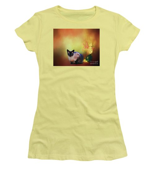 Siamese If You Please Women's T-Shirt (Athletic Fit)