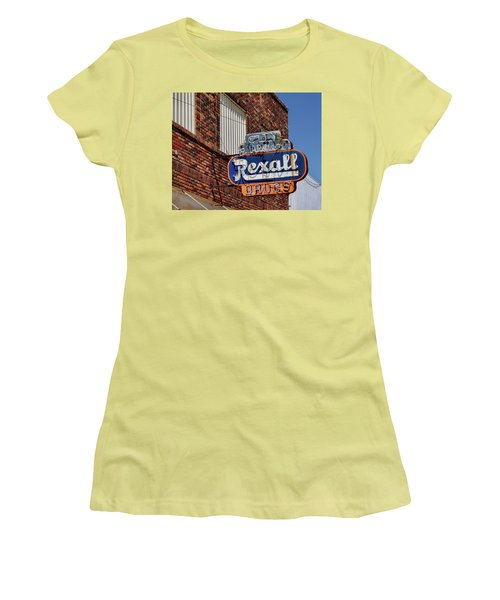 Sign Of The Past Women's T-Shirt (Junior Cut) by David and Carol Kelly