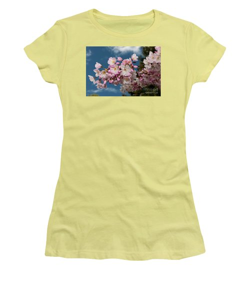 Silicon Valley Cherry Blossoms Women's T-Shirt (Athletic Fit)