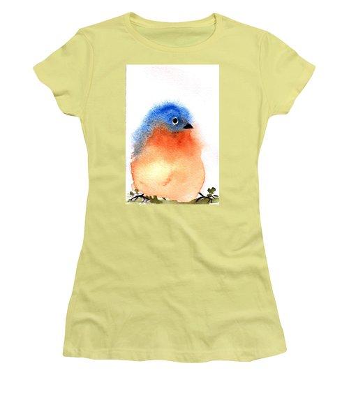 Silly Bird #2 Women's T-Shirt (Junior Cut) by Anne Duke