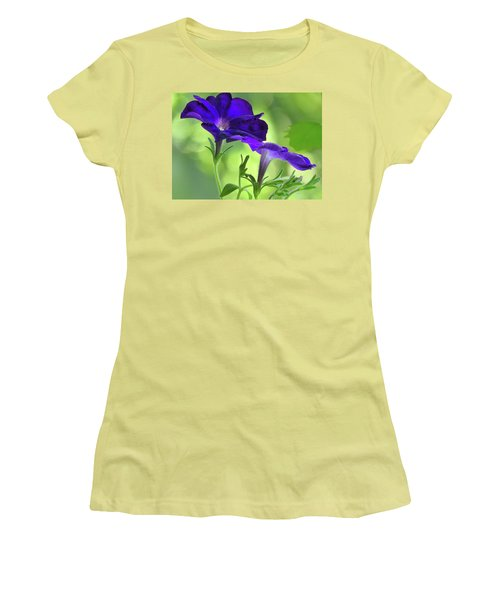 Simple And Undemanding Women's T-Shirt (Junior Cut) by Laura Ragland