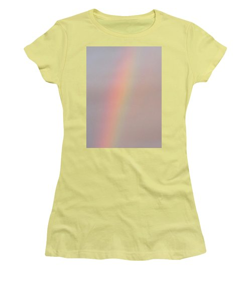 Simple Desert Rainbow Women's T-Shirt (Athletic Fit)