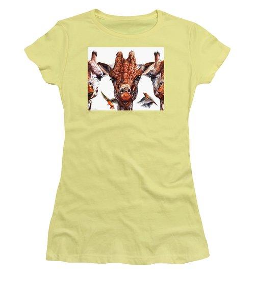 Simple Minds Women's T-Shirt (Athletic Fit)