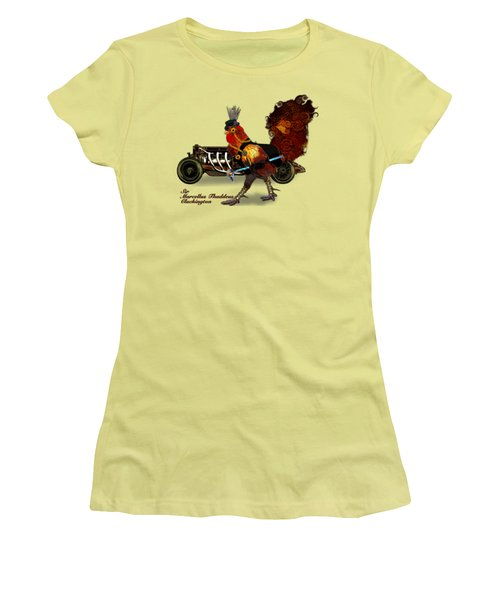 Sir Marcellus Thaddeus Cluckington Women's T-Shirt (Athletic Fit)