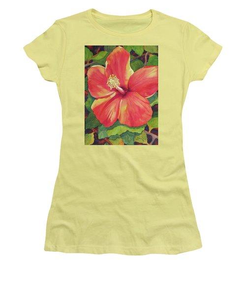 Sizzle Women's T-Shirt (Junior Cut) by Judy Mercer