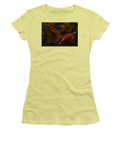 Skc 9841 Lovable Pair Women's T-Shirt (Junior Cut) by Sunil Kapadia