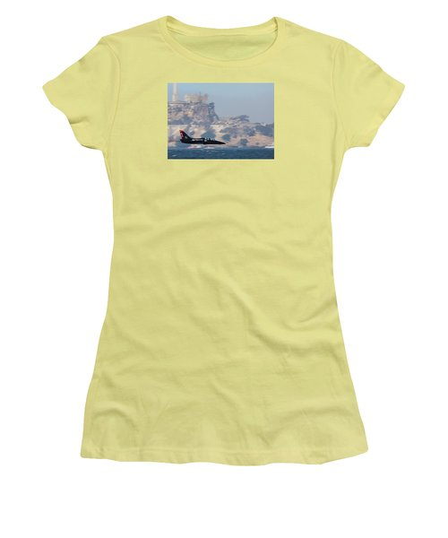 Skimming The Bay Women's T-Shirt (Athletic Fit)