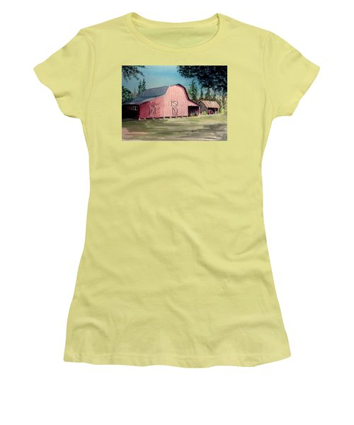 Skip Kelly's Barn Women's T-Shirt (Athletic Fit)