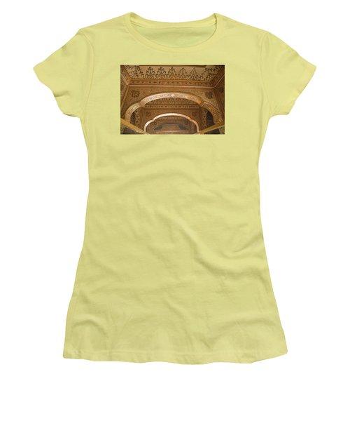 Skn 1248 The Miniature Art Women's T-Shirt (Junior Cut) by Sunil Kapadia