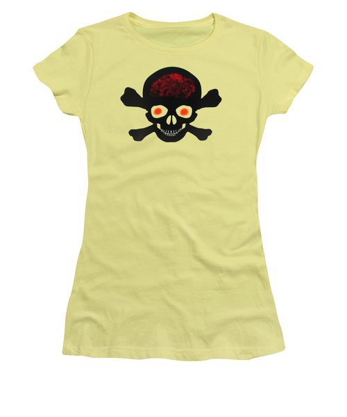 Skull And Bones Women's T-Shirt (Athletic Fit)