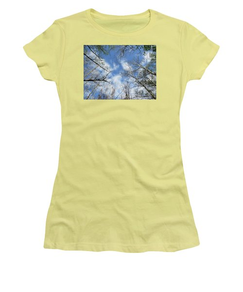 Sky Above Women's T-Shirt (Athletic Fit)