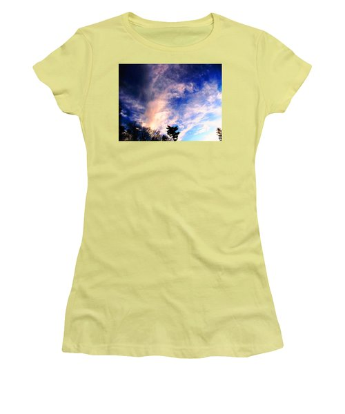 Sky Study 5 3/11/16 Women's T-Shirt (Athletic Fit)