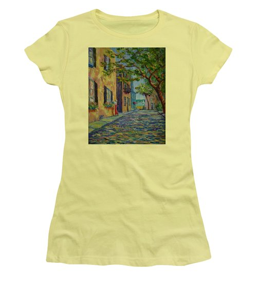 Farmer's Daughter  Women's T-Shirt (Junior Cut) by Dorothy Allston Rogers