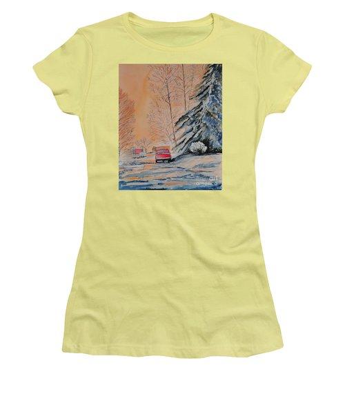 Slush Women's T-Shirt (Athletic Fit)