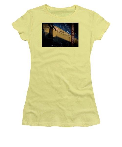 Women's T-Shirt (Junior Cut) featuring the photograph Sma Ssorc Der As by Paul Job