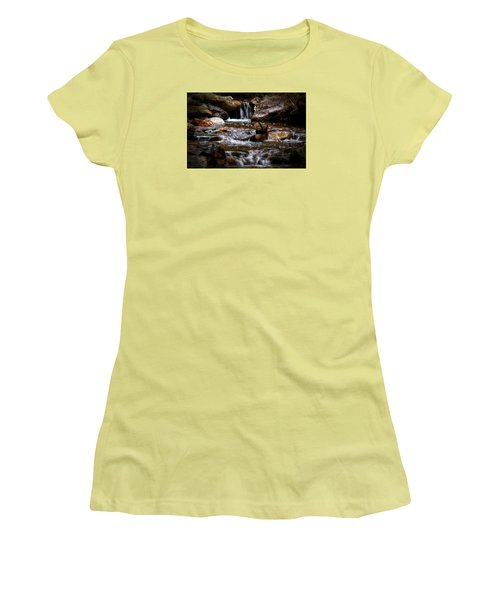 Small Falls Women's T-Shirt (Athletic Fit)