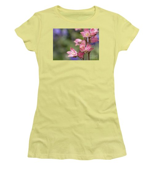 Small Flowers Women's T-Shirt (Junior Cut) by Tine Nordbred