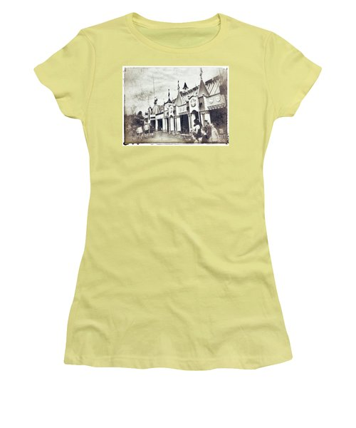 Small World Women's T-Shirt (Athletic Fit)
