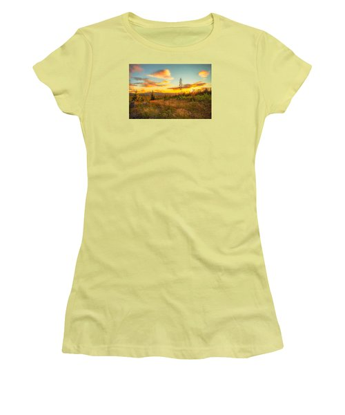 Women's T-Shirt (Junior Cut) featuring the photograph Smell Of Nature by Rose-Maries Pictures