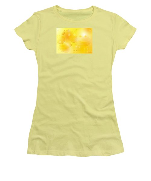 Smile Women's T-Shirt (Junior Cut) by Denise Fulmer