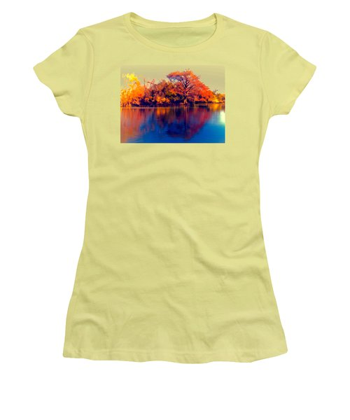 Smoke Signals Women's T-Shirt (Junior Cut) by Wendy J St Christopher