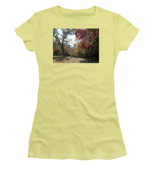 Smokies 12 Women's T-Shirt (Junior Cut) by Val Oconnor