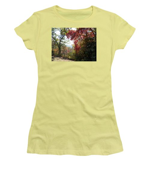 Smokies 13 Women's T-Shirt (Junior Cut) by Val Oconnor