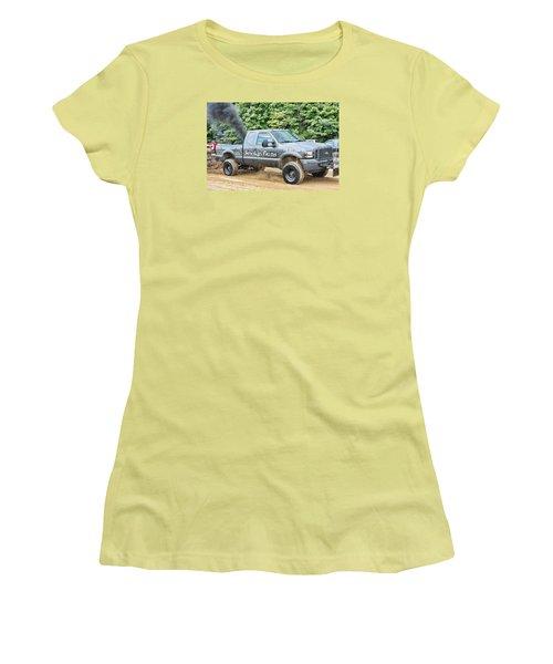 Smokin' Guns Women's T-Shirt (Junior Cut) by Denise Romano